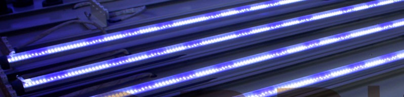 Reef Aquarium LED LED Lighting T5-T8 lâmpadas