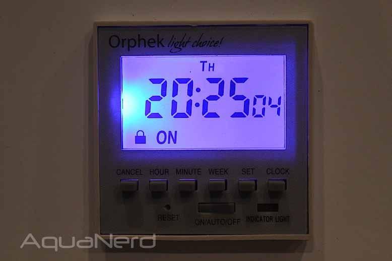Orphek PR156 XP temporizador