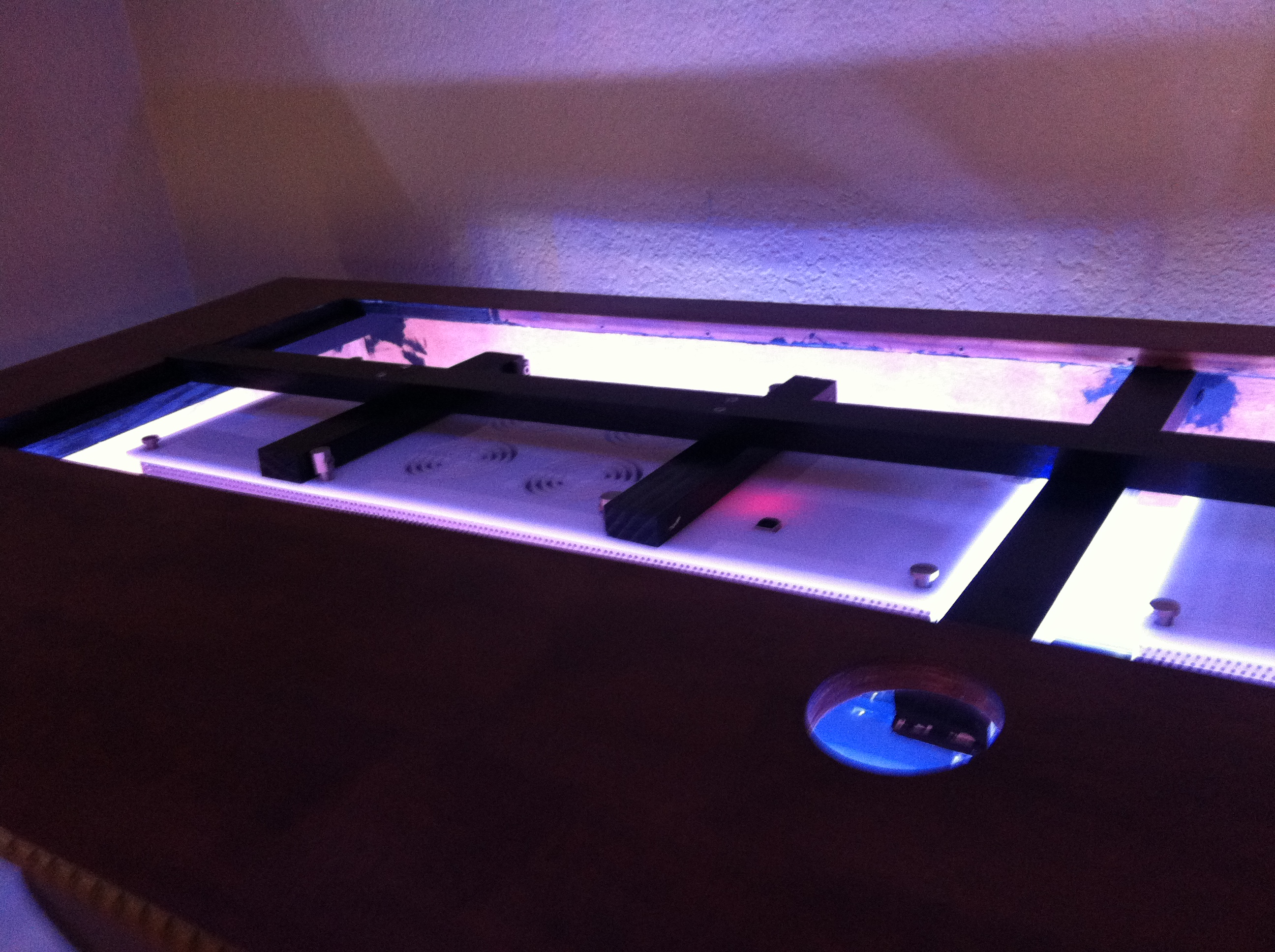 top tank LED lighting