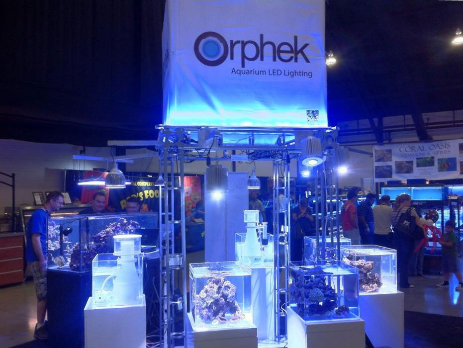orphek-at-MAX-marine-trade-show