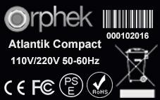 Atlantik compact-CE-chứng nhận