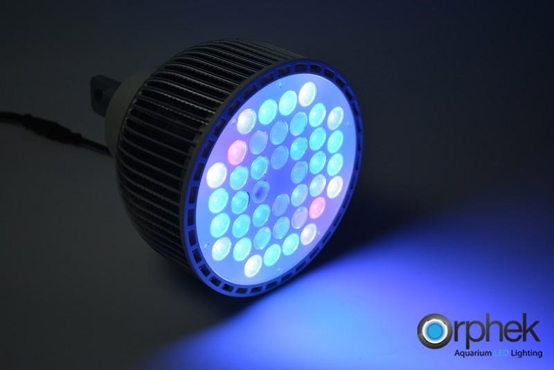 LED-belysning för akvarium