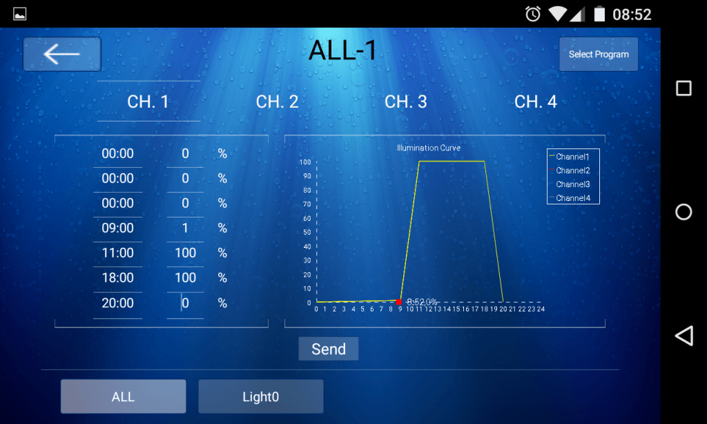 orphek Atlantik APP Screenshot