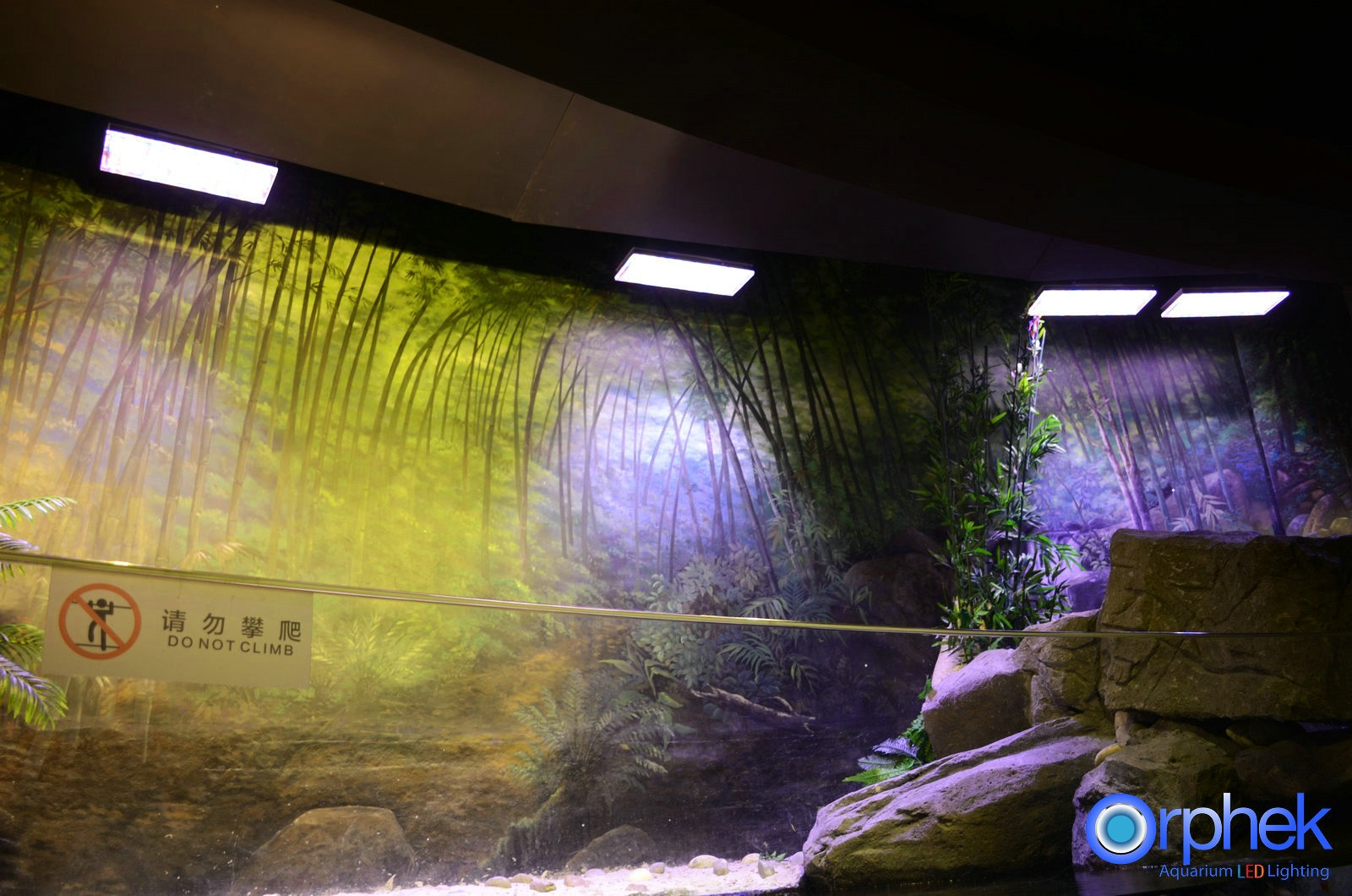 Aquarium luminaire LED