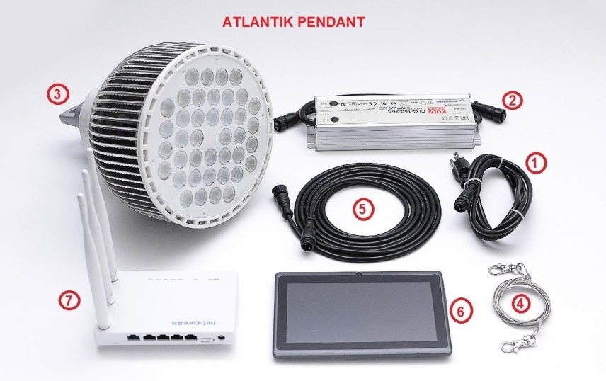 Atlantik_ Pandant_kit_LED_light