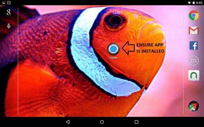 Orphek app desktop