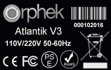 صدور گواهینامه از Atlantik V3- CE-