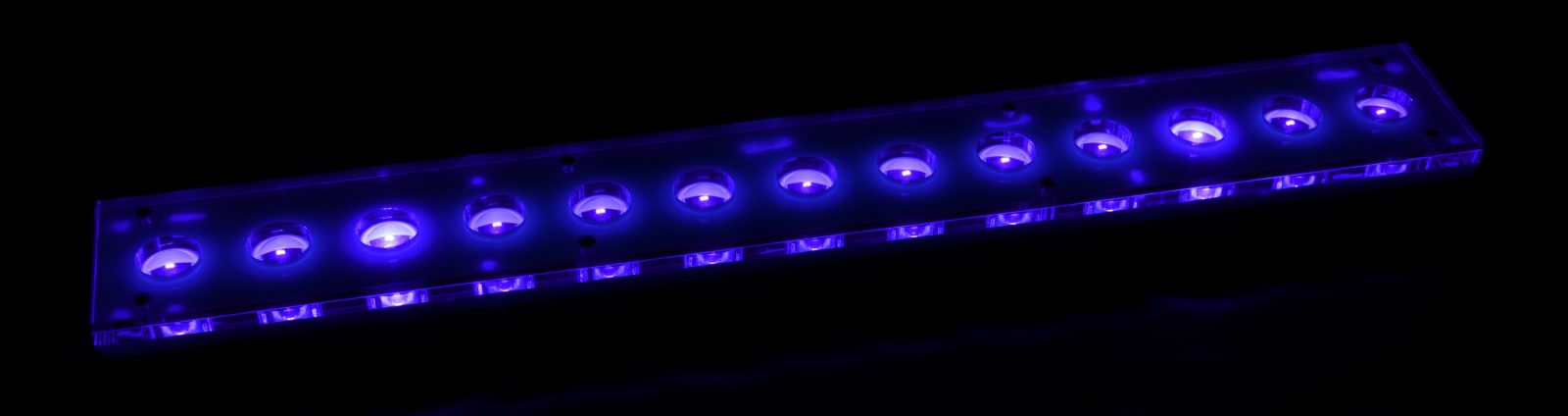 Super Biru Slim Jalur LED-violet
