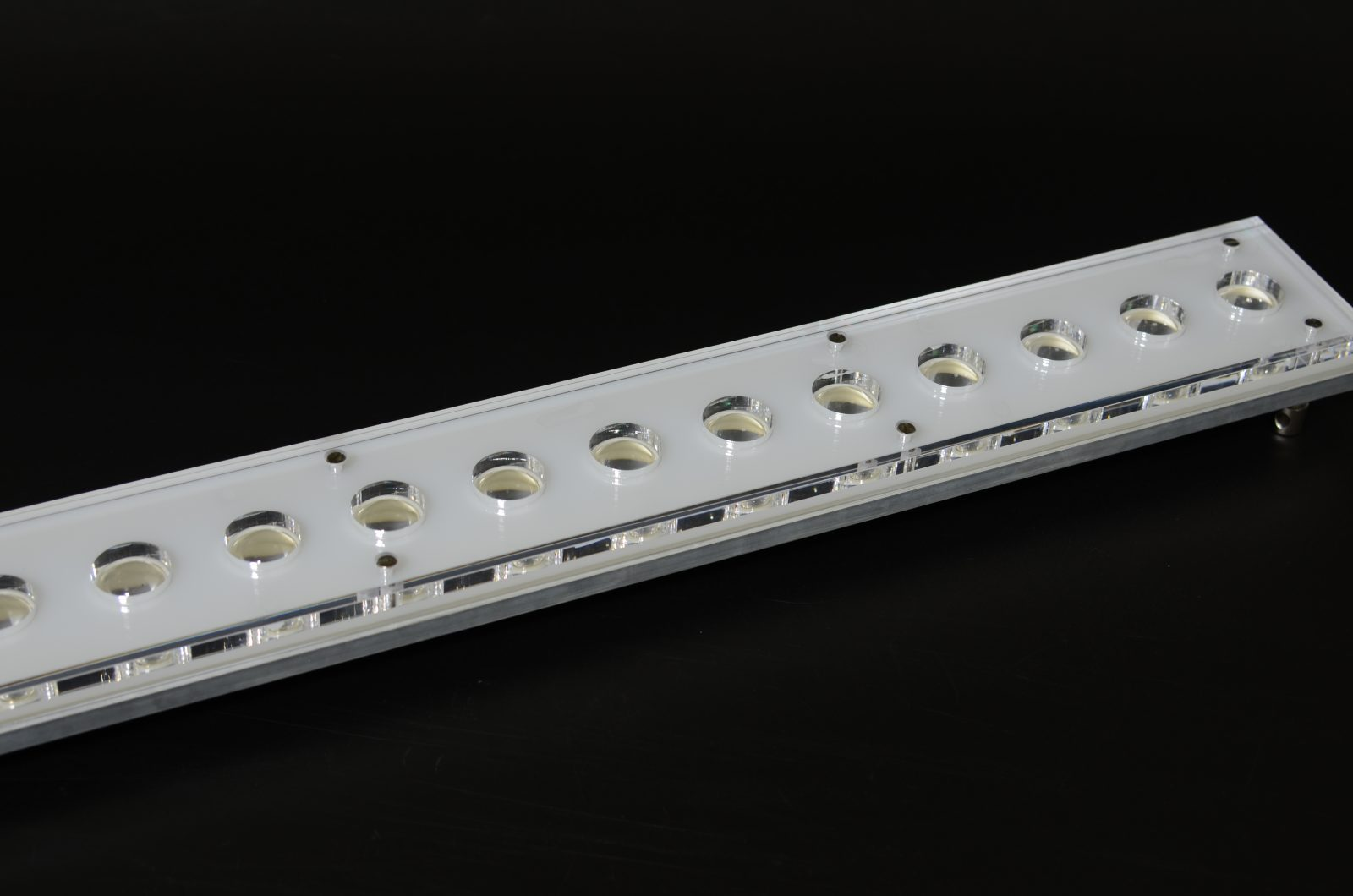 Super Blue LED Slim Line-bianco-acrilico