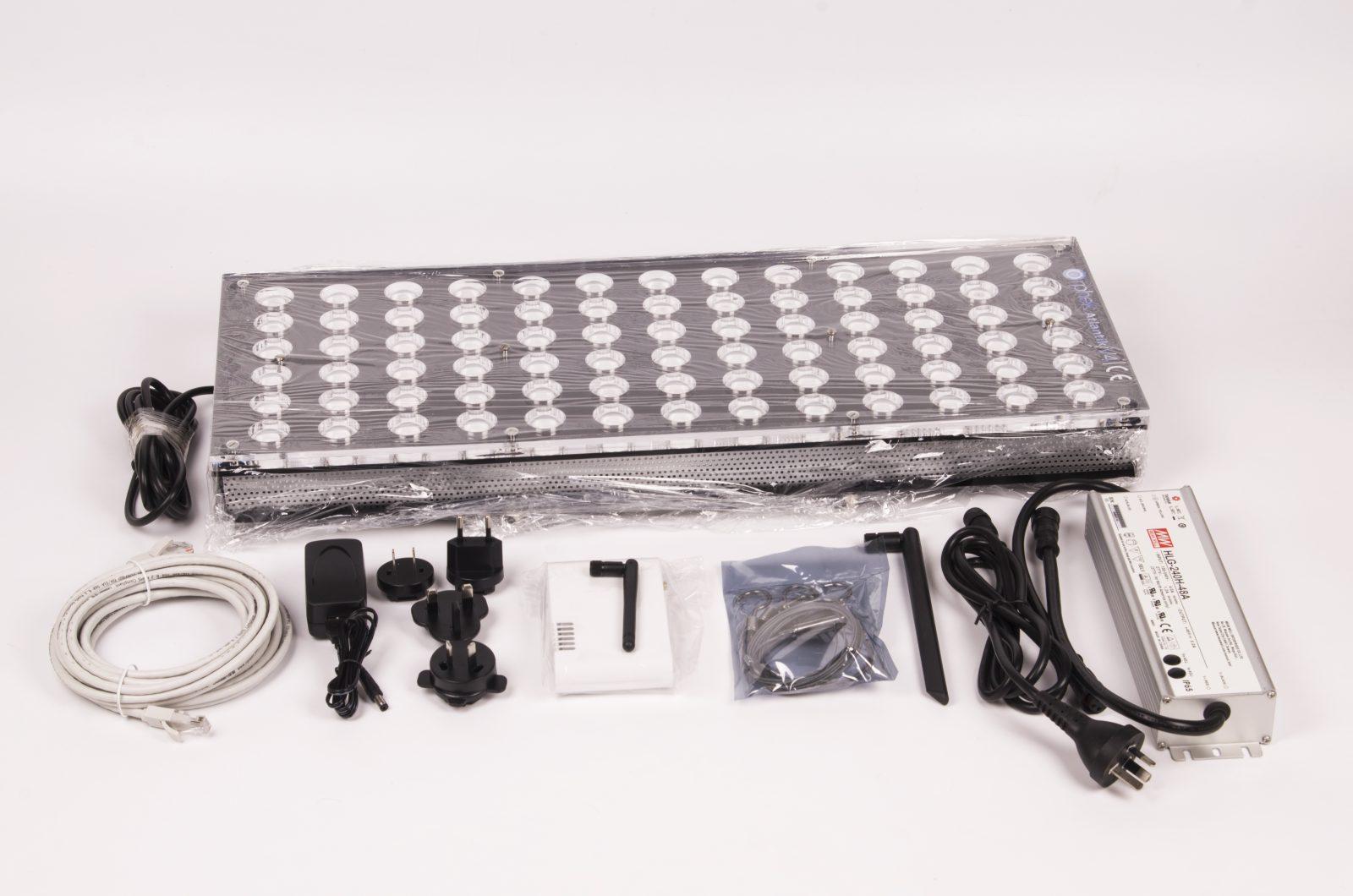 luminaire led pour aquariums d 39 eau douce atlantik v4. Black Bedroom Furniture Sets. Home Design Ideas
