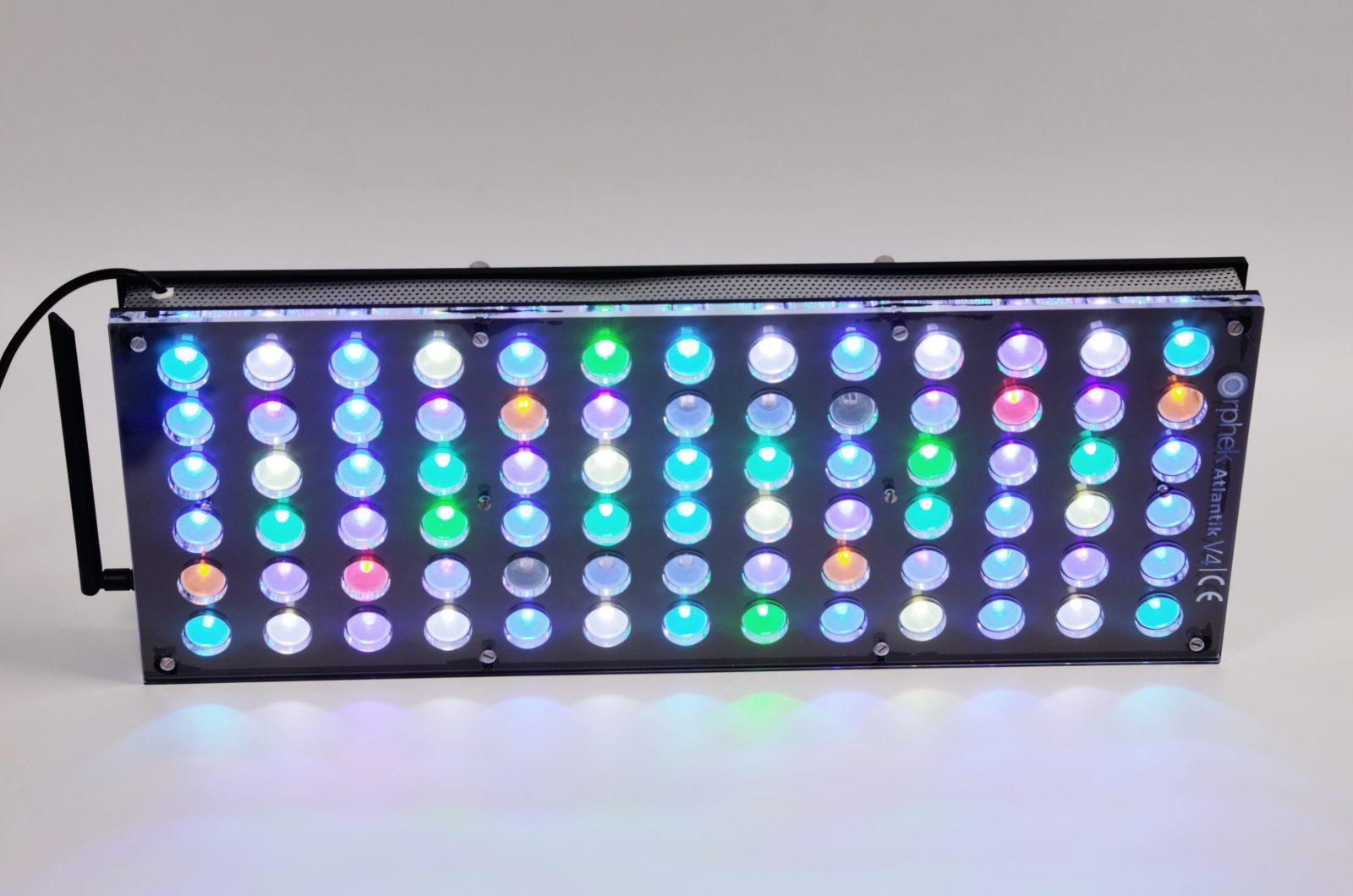 Atlantik V4 Reef Aquarium LED-verlichting • Orphek Aquarium LED ...
