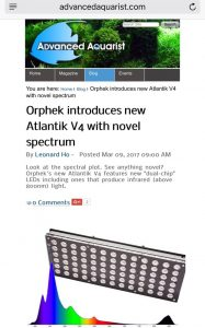 The launch of Atlantik V4 and reef social medias
