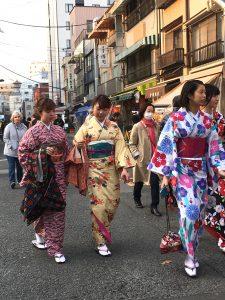 Asakusa Kimono filles