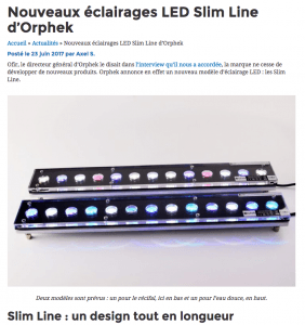 Slim Line LED 24″ en Français/Slim Line LED 24″ in French