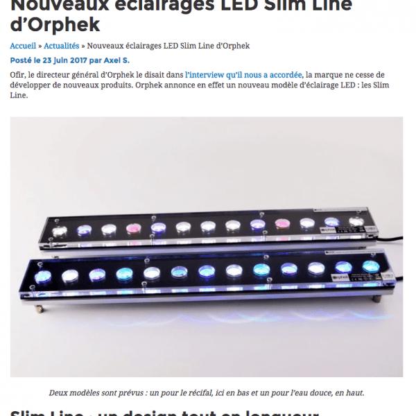 Slim Line LED 24″ en Français/Slim Line LED 24″ in French