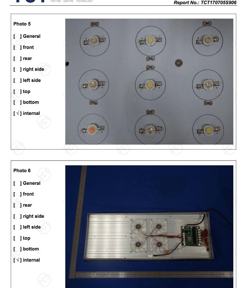 Orphek Atlantik Leiterplatten LEDs