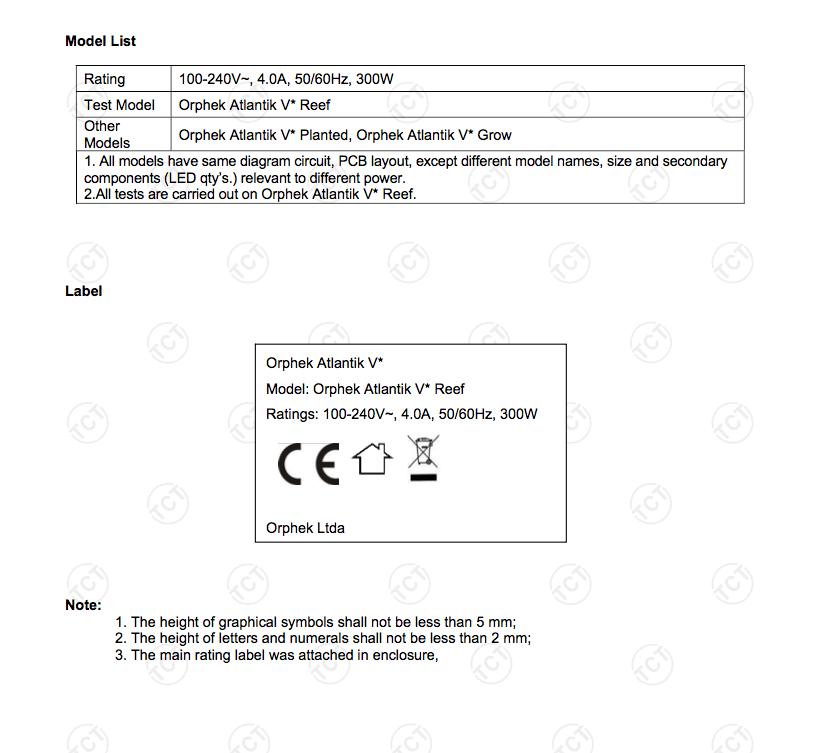 אופטק אטלנטיק הסמכה CE