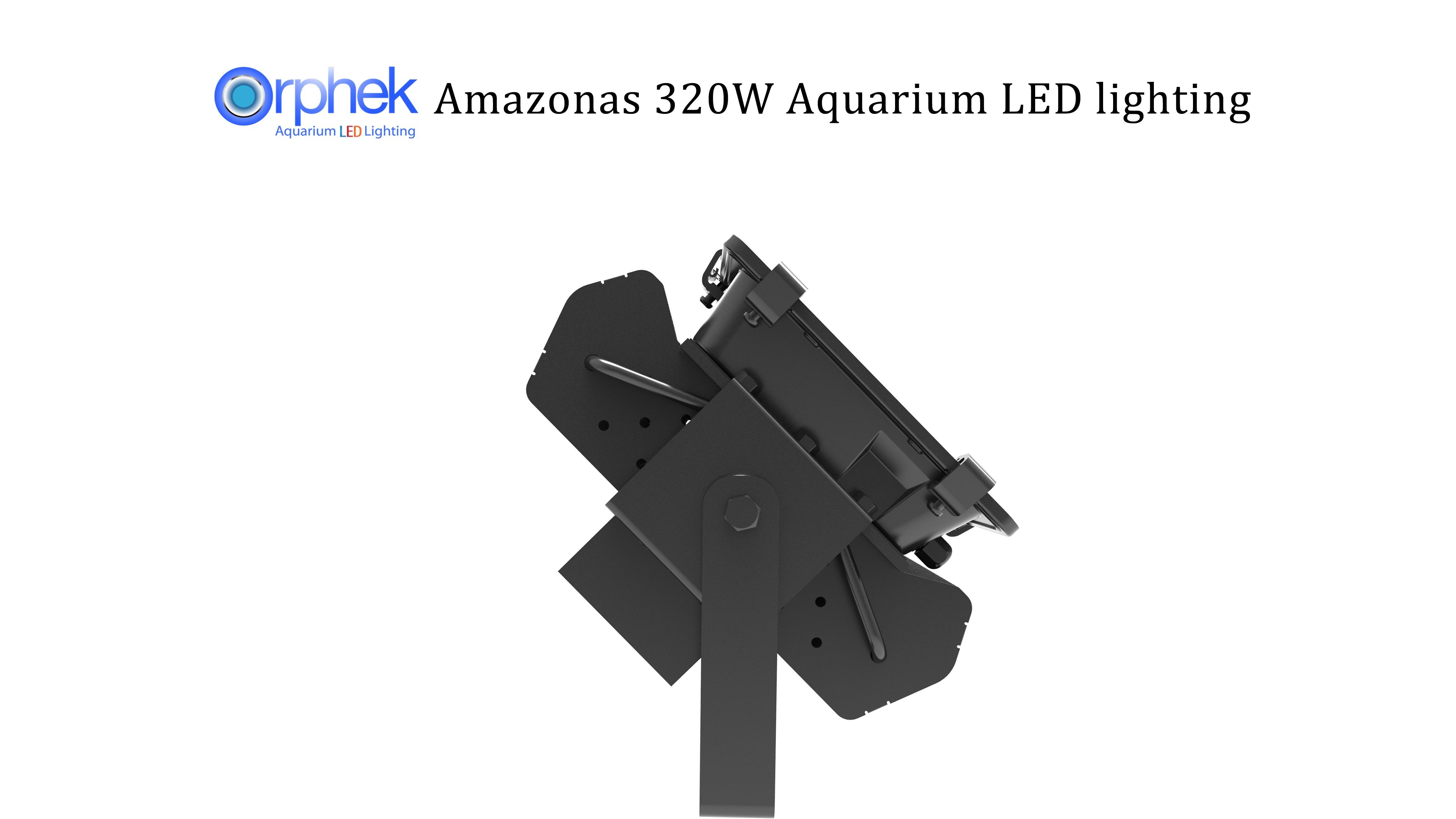 Orphek-Amazonas 320w-LED-lightis-akuarium