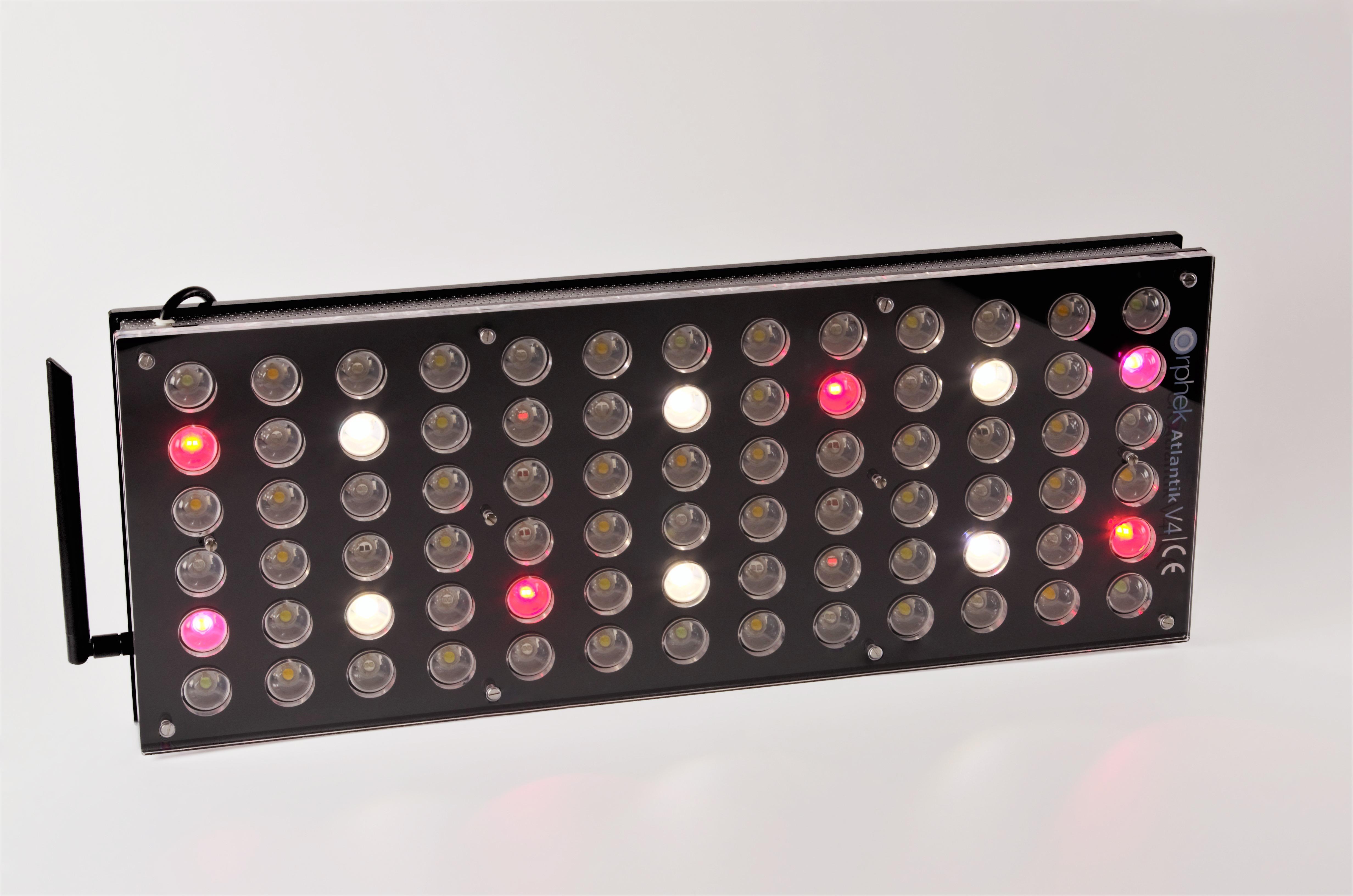 আটলান্টিক ভিক্সইক্সএক্স টাওয়ারওয়াটার অ্যাকোয়ারিয়ামস LED হাল্কা CH4 রোপণ করেছে