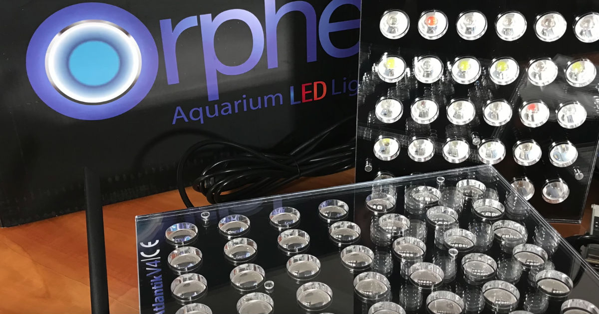 Orphek Atlantik Compact V4 available now in Bulk Reef Supply and Unboxing Video