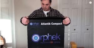 オルフェック・アトランティック・コンパクトV4はバルクリーフ供給とアンボクシングビデオで今すぐ利用可能