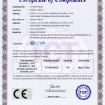 Certificado CE-LVD OR120-90-60
