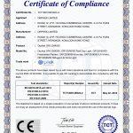 Orphek OR120-90-60 Certificato CE-EMC
