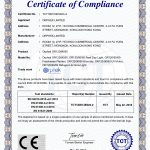 شهادة Orphek OR120-90-60 CE-EMC