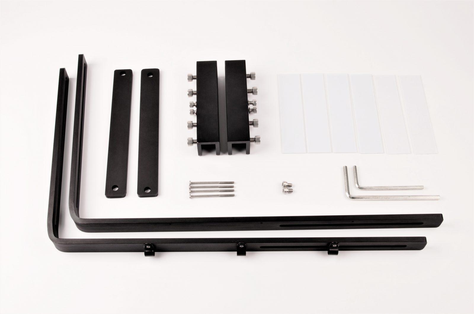 Mounting kit parts