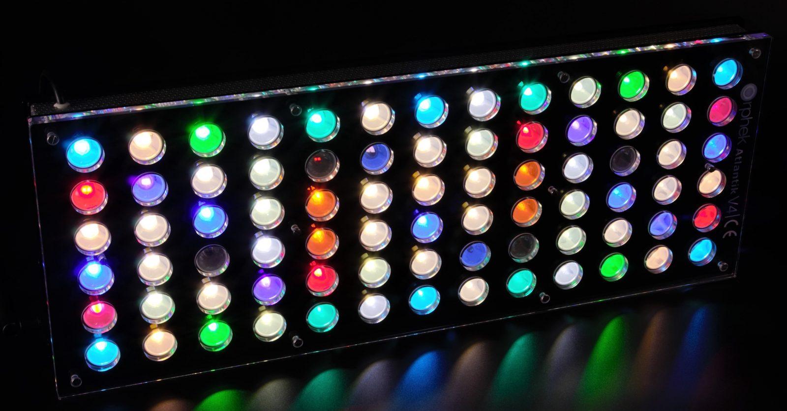 הכי אקווריום LED אור