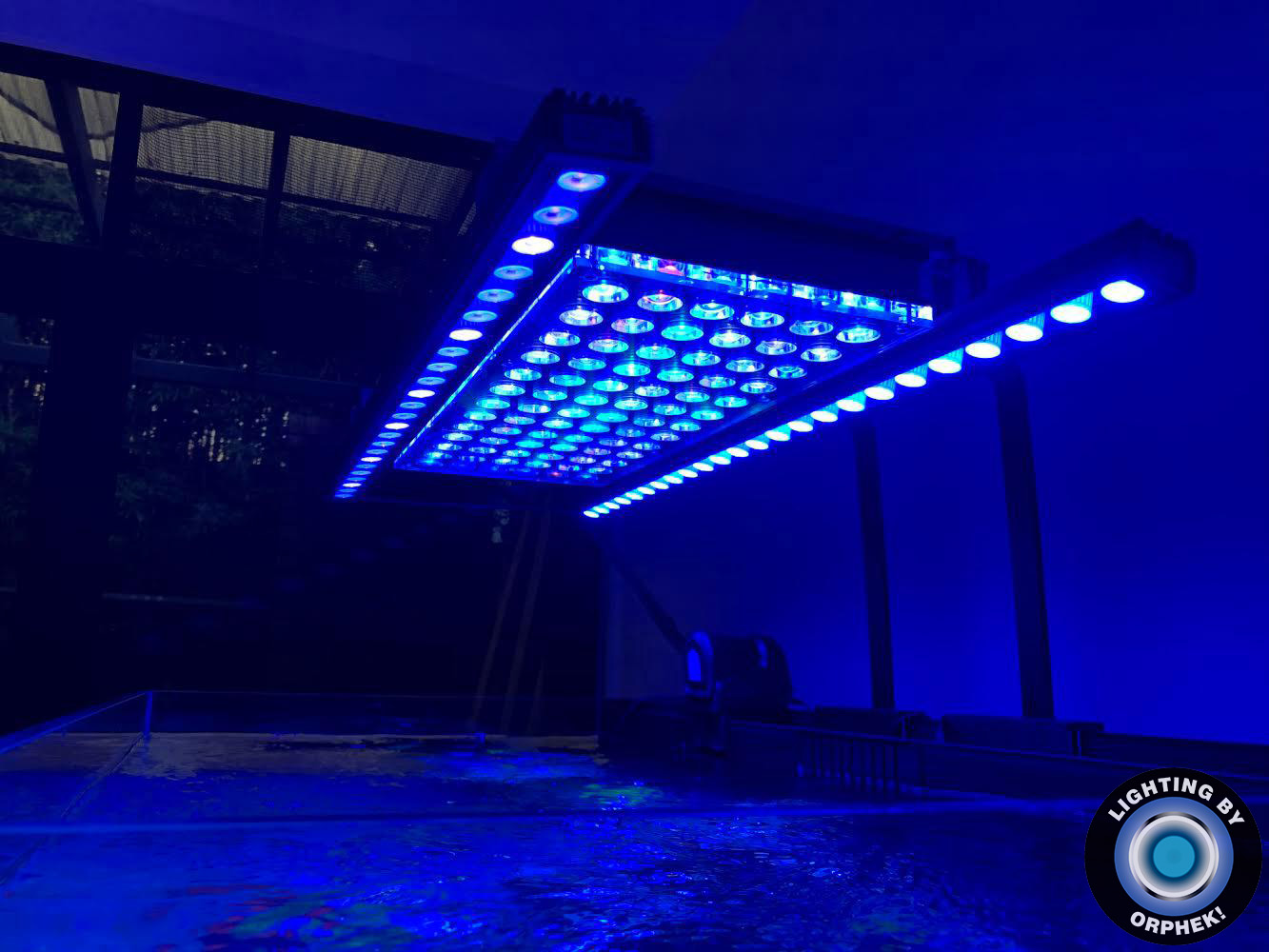 saltwater reef aquarium's best LED strip