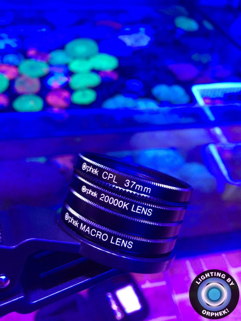 best reef aquarium phone lens 2020