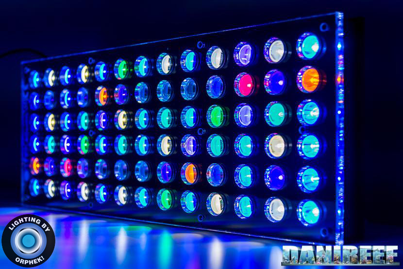 strongest reef aquarium led lighting atlantik v4