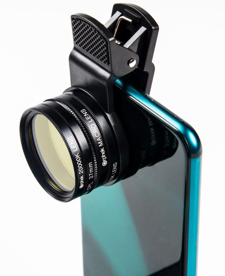 lente de cristal de alta calidad para celular