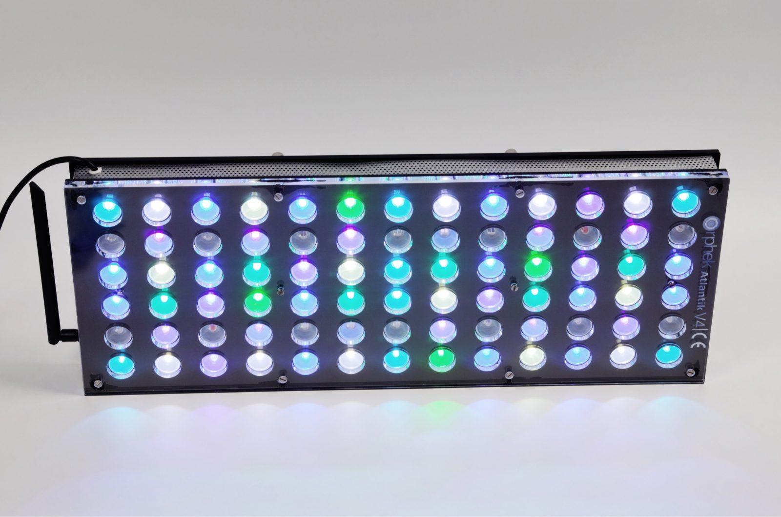 אורות אקווריום השונית הטובים ביותר orphek atlantik v4