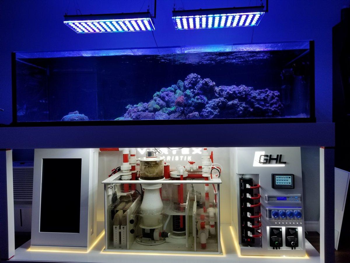 उच्च अंत मछलीघर एलईडी प्रकाश व्यवस्था