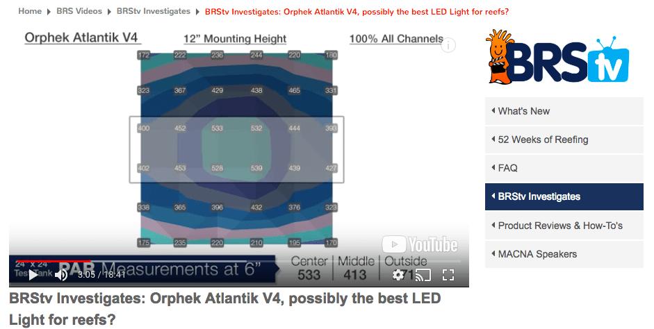 το καλύτερο φως δεξαμενής atlantik v4
