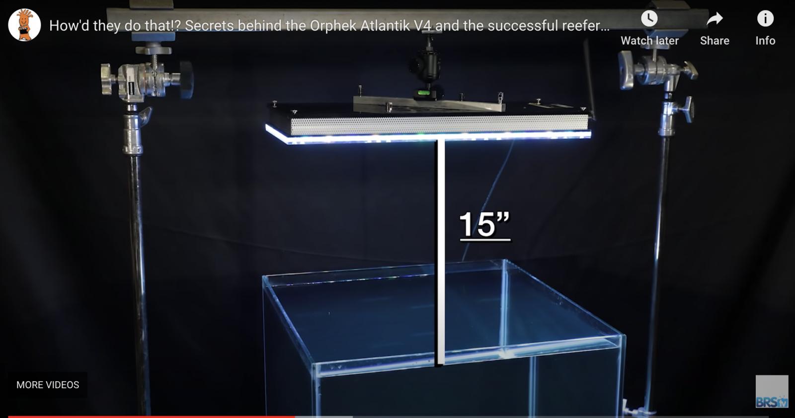 Recommended height for Atlantik V4 Gen 2 2020