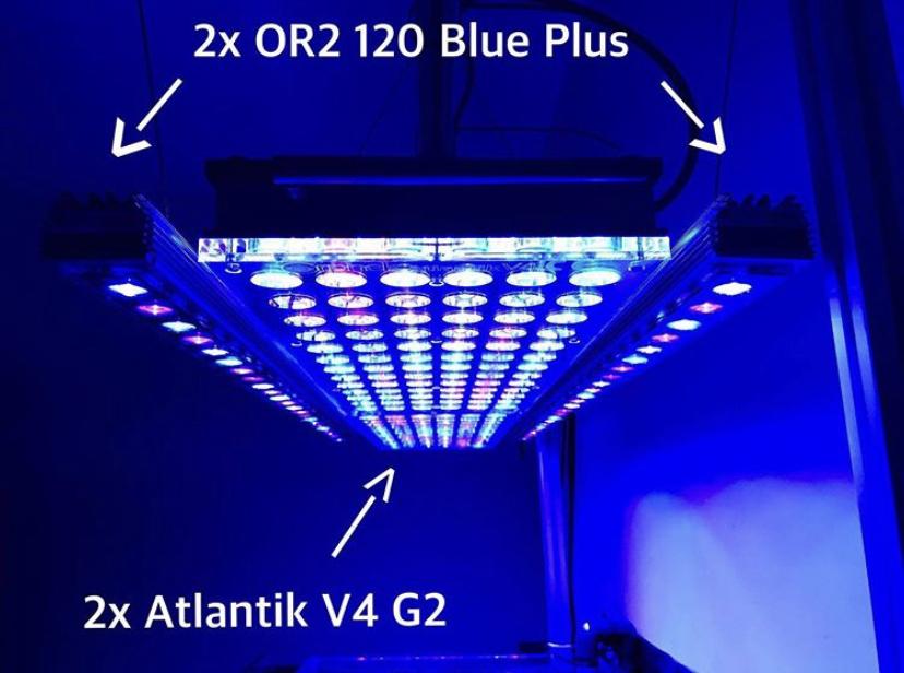 konfiguracja świateł LED orphek