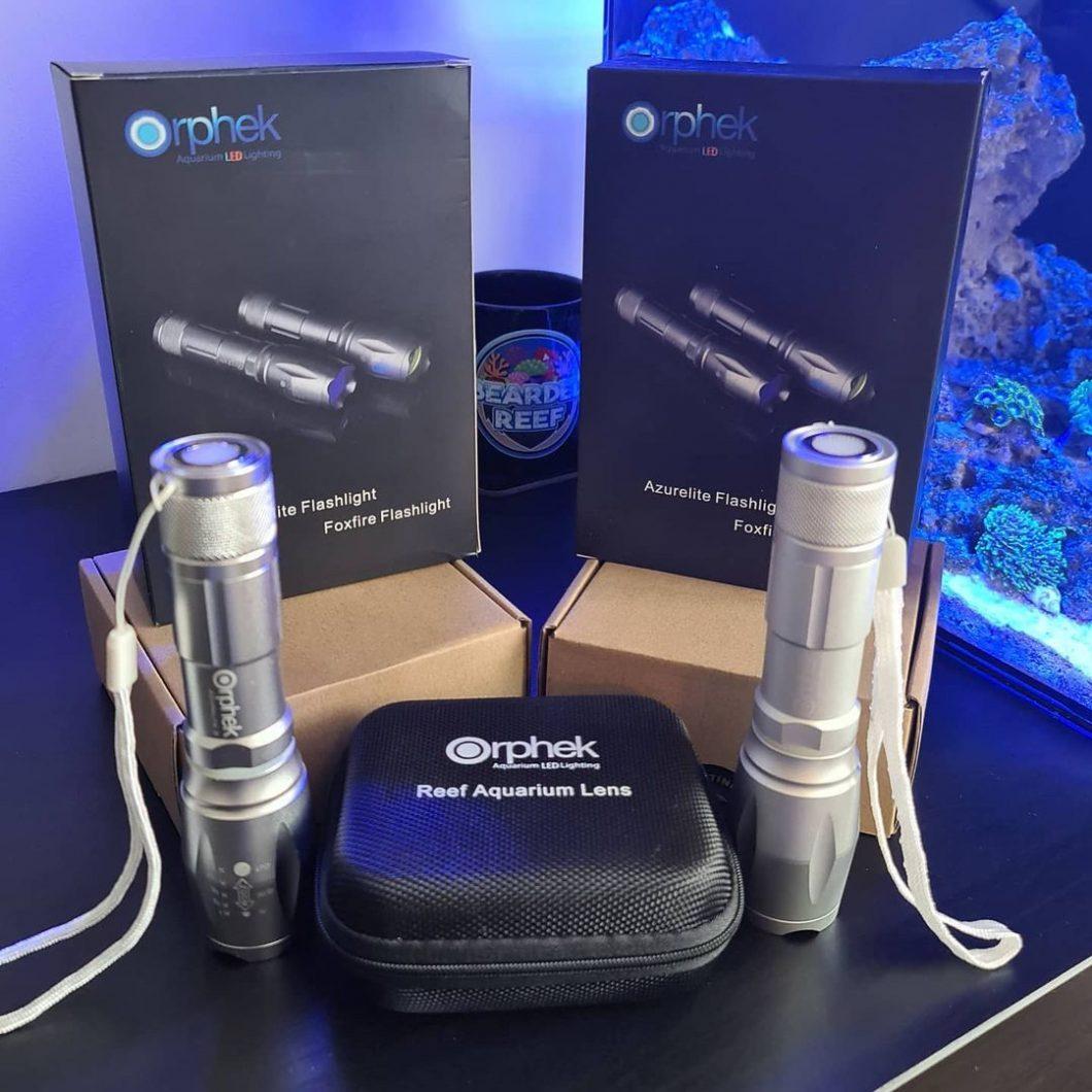 Orphek-AZURELITE-2-Blue-LED-Taschenlampe-für-Koralle7
