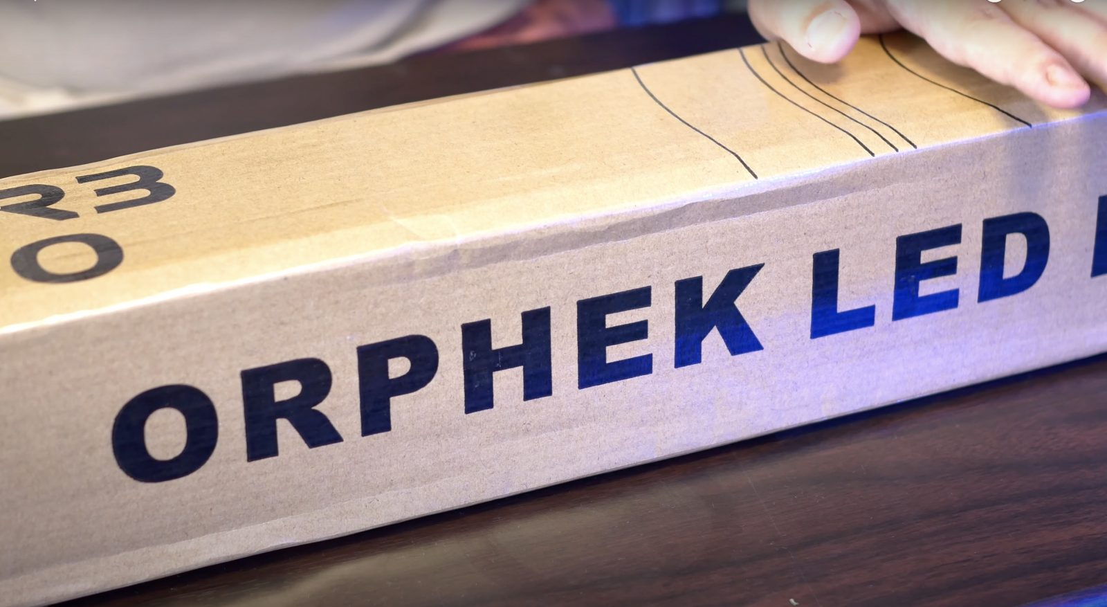 Orphek OR3 60 LED Bar Box Nahaufnahme