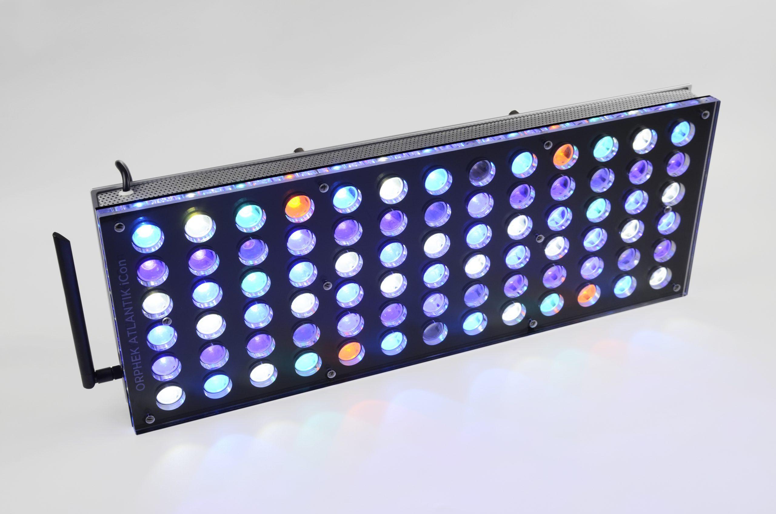 Orphek Atlantik iCon najlepsze oświetlenie akwarium rafowego 2022 LED